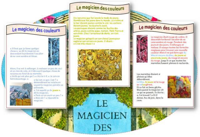 Tapuscrit Le Magicien Des Couleurs Lecture Du Soir Révisions Le Cycle 2 Après L école