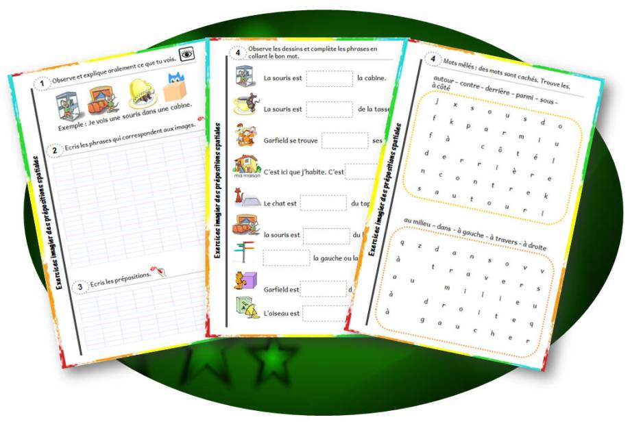 apercu-fiches-exercices-prepositions-spatiales-cp-ce1-cycle2