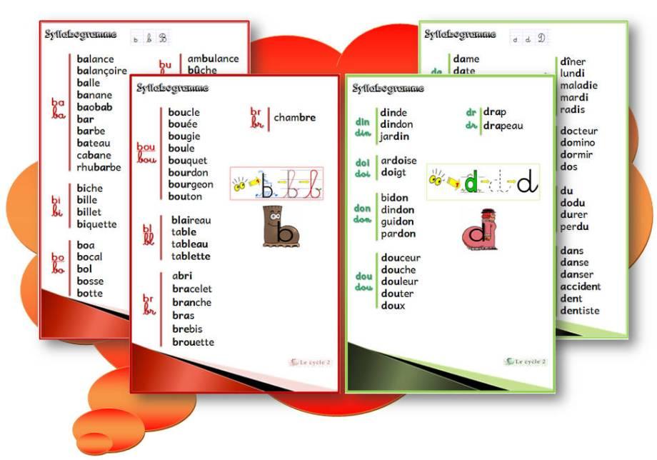 syllabogramme-lettre-son-b-lettre-son-d-confusion-des-sons-cp-ce1-cycle2