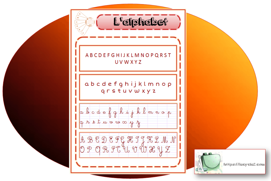alphabet-lettres-majuscules-minuscules-script-cursives-cp-ce1