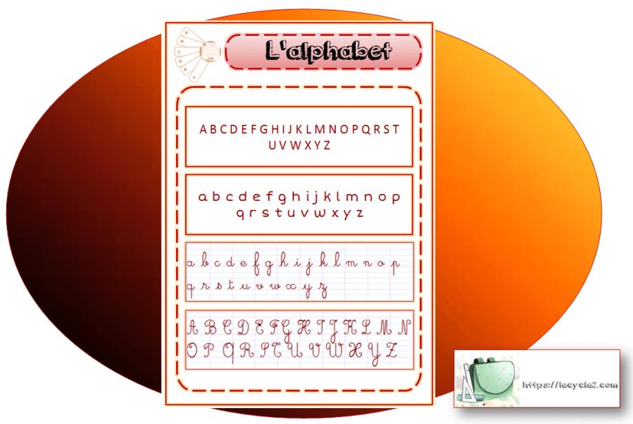 fiche-alphabet-lettres-majuscules-minuscules-script-cursif