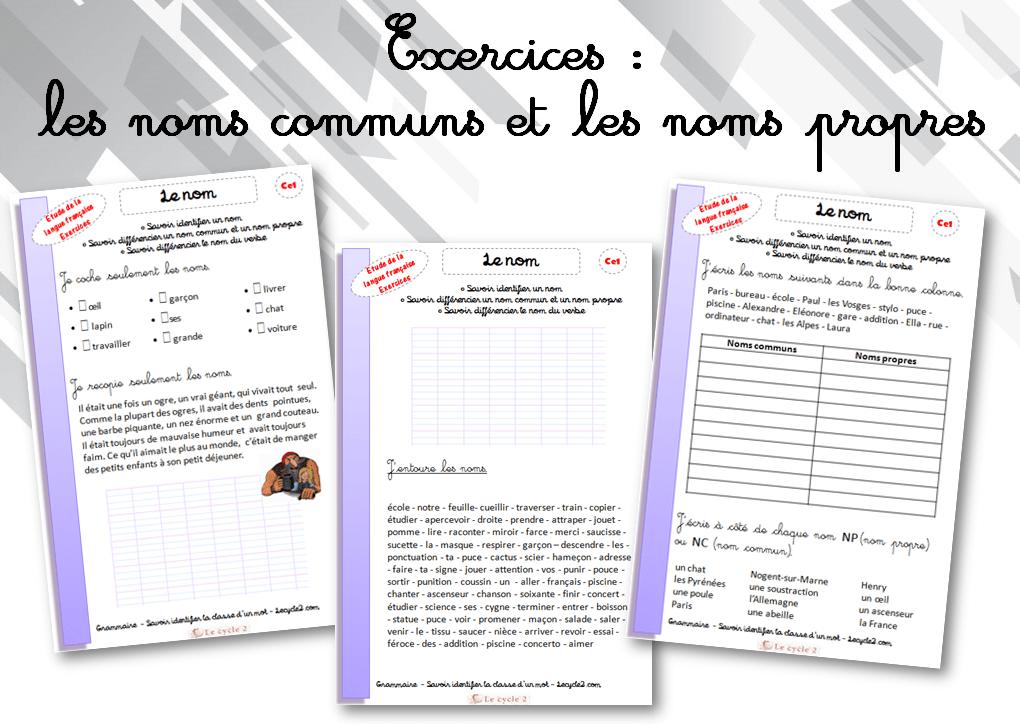 exercices-noms-communs-noms-propres-ce1-a-imprimer-lecycle2-com.