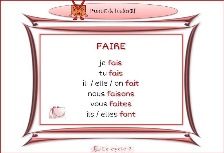fiches-conjugaison-ce1-present-de-l-indicatif-faire